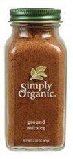 Simply Organic Ground Nutmeg 12x 2.3Oz