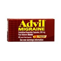 Advil Migrain 20'S Size 20ct Advil Migraine Pain