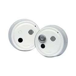 (Gentex 8100T Smoke Alarm, 120V Hardwired System Photoelectric Latching w/A/C Contacts & Integral Heat Alarm - No Horn (908-1234-002))