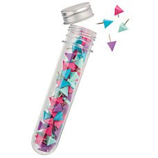 - Test Tube Triangular Push Pins, 1/2