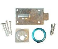 Kaba Ilco 1800-28-41 Garage Door Lock Less Cylinder - Clear Aluminum