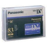 Panasonic Professional Quality Mini DV Tape - 83 Min. AY-DVM83PQUS