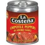 La Costena Chipotle Pepper 7 Ounce -- 24 per case
