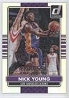 Nick Young #22/179 (Basketball Card) 2014-15 Panini Donruss - [Base] - Stat Line Silver Season #74
