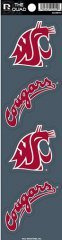 (Rico NCAA Washington State Cougars Quad Decal)