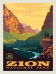 National Park Zion Panel