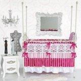 Caden Lane Luxe Collection Sophia Crib Bedding (Sophia Bedding Collection)