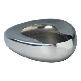 Grafco 3227 Stainless Steel Bed Pans - Adult: 14'' x 11 3/8''