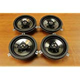 Chrysler Jeep Dodge 6.5inch Kicker Speaker Upgrade Set of 4 Mopar OEM