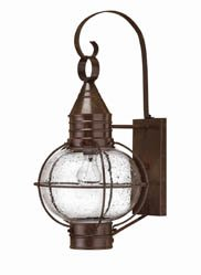 Cape Cod Wall Lantern in Sienna Bronze