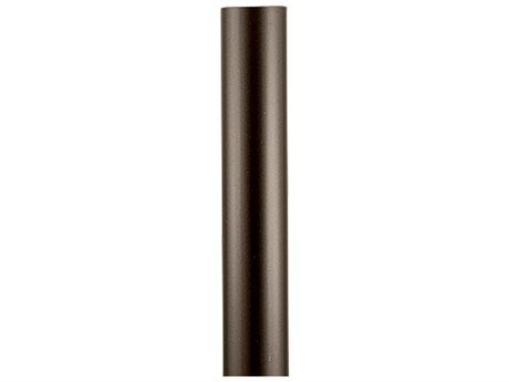 Progress Lighting P5390-20 Aluminum Outdoor Post 3 Inch x 84 Inch Antique Bronze