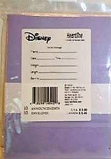 Winnie the Pooh Disney Baby Birth Announcement Cards