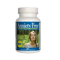 RidgeCrest Herbals Anxiety Free - 60 cap, 2 pack