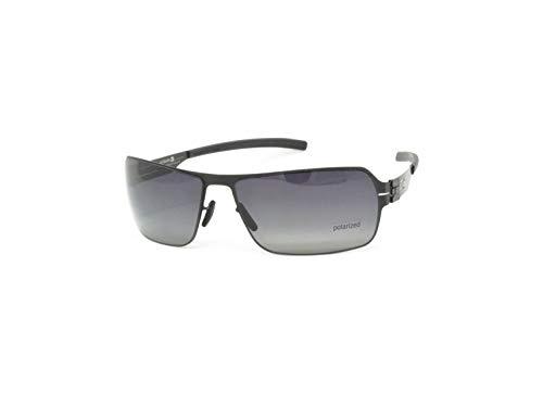 823bb3737e14 ic! Berlin Sunglasses Jesse Black With Black Clear Nylon Lenses
