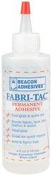 WMU - Fabri-Tac Permanent Adhesive-4 Ounce