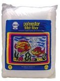Polyester Filter Floss for Fish and Aquatic, Size: 7 OUNCES (Blue Ribbon Polyester Floss)