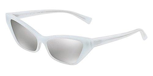 Woman Mikli White Alain Mirror Sunglasses silver White 57 RExdqzdB