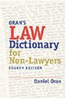 By Daniel Oran - Law Dictionary for Nonlawyers (4th Edition) (11/30/99)