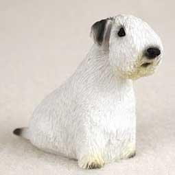 (Sealyham Terrier Miniature Dog Figurine)