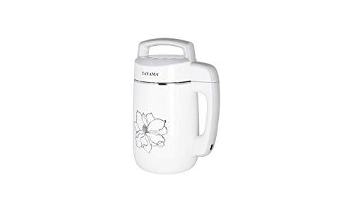 Stainless Steel Soy Milk Maker - Tayama DJ-15S Multi-Functional Stainless Steel Soymilk Maker 1.1L, 1.1 L, White
