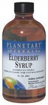 Planetary Herbals Elderberry Syrup, 8 fl oz (236.56 ml) Glass
