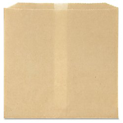 Hospital Specialty Co. Waxed Napkin Receptacle Liners, Brown Kraft Paper, 8 inches x 7 inches x 8 inches, 500 Napkin Receptacle Liners per (Hospital Specialty Kraft Waxed Paper)
