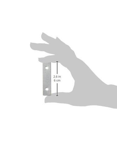MINTCRAFT MP-Z025-013L Zinc Mending Plate 2.5 x 5//8-Inch