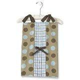 My Baby Sam Go Car Go Diaper Stacker, Brown: more info