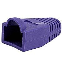 [50pcs] RJ-45 Color Coded Strain Relief Boots - Purple