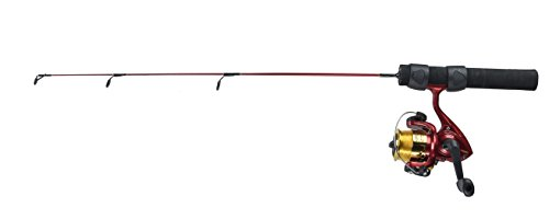 Master Pesca Tackle Master Pesca Roddy Master Pesca Mighty Might 2'. cepillo para polvo caña de pescar combo, rojo