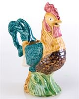 Abigails Ceramic Rooster Pitcher, 9.5-Inch by 5.5-Inch by 12-Inch by Abigails