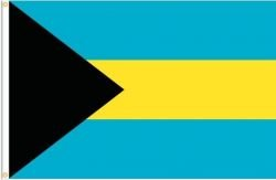 Bahamas Large 3 X 5 Feet Country Flag Banner .. Great Quality ... New (Flag Country Bahamas)