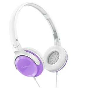 Pioneer SE-MJ502-V SE-MJ502 Fully Enclosed Dynamic Headphones SEMJ502 Violet