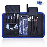 Rarlight Screwdriver Set with Magnetic Driver Kit, Professional Electronics Repair Tool Kit with Portable Oxford Bag for Laptop, iPhone, iPad, Cellphone, Watch, PC, Computer, ()