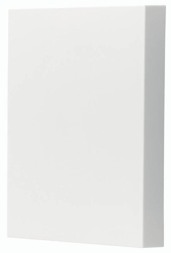 NuTone LA39WH Decorative Paintable Wired Two-Note Door Chime, White (White Broan Chimes Wired)