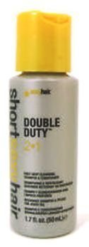 Double Duty 2 in 1 Daily Deep Cleansing Shampoo & Conditione