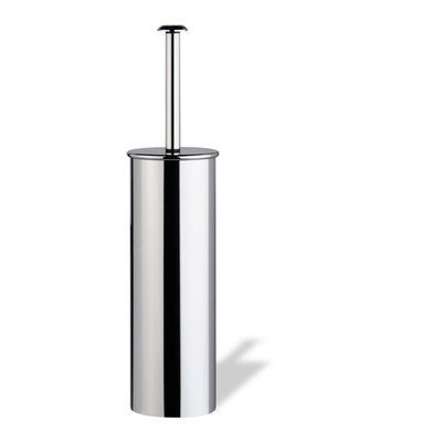 StilHaus StilHaus H039-08-638845319089 Holiday Collection Brass Rounded Toilet Brush, Chrome by StilHaus