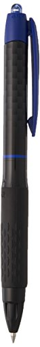uni-ball 307 Retractable Gel Pens, Micro Point (0.5mm), Blue, 12 Count ()