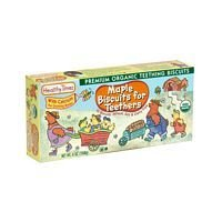 Healthy Times Maple Teething Biscuit Wheat Free 6 Oz (Pack of 12) - Pack Of 12 by Healthy Times