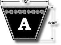6865 A63 Kevlar V Belt