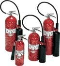Amerex 332 20 Pound Stored Pressure Carbon Dioxide 10-B:C Fire Extinguisher for Class B/C Fires with Chrome Plated Brass Valve, Wall Bracket, Hose/Horn, English, 15.34 fl. oz., Plastic, 30 x 1 x 13