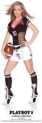 [Women's Costume: Playboy Touchdown Tease-Medium PROD-ID : 774864] (Touchdown Adult Costumes)