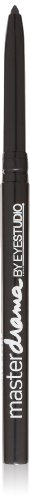 Maybelline New York Eye Studio Master Drama Cream Pencil Liner, Midnight Master 400, 0.01 Ounce, 1 Count