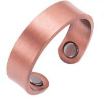 Earth Therapy Magnetic Pure Copper Ring For Women & Men Magnetic, 0.2 Ounce