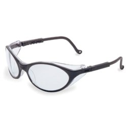 Black Frame Safety Glasses with Clear UD Lens (Clear Ud Lens)