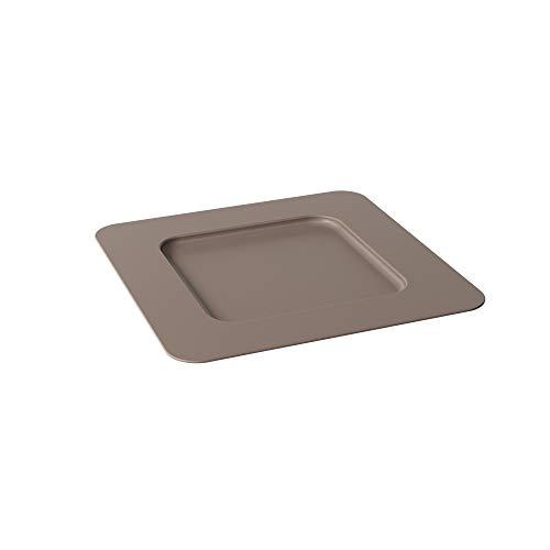 Sousplat Quadrado 315x31,5x1,5casual Coza Warm Gray