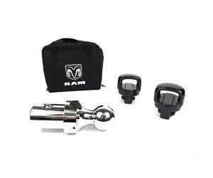 Mopar 82216057AA 2 5/16'' Gooseneck Ball W/Safety Chain Tie Downs Dodge Ram 3500
