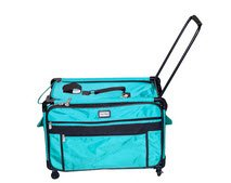 Tutto 9228TMA 2XL TURQUOIS Machine on Wheels Case, 27 by 16.25 by 14, Turquoise by Tutto