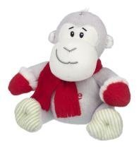 Elliot and Buttons Love You Morris Monkey Cuddly Toy in Scarf