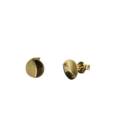 Boucles d'oreille - Or jaune 333 8 K - Forme Cercle - Or